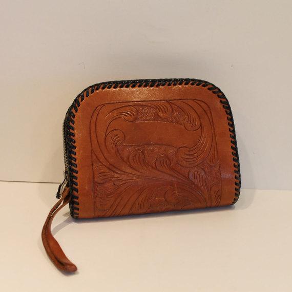 Vintage-Tooled-Leather-wallet